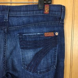 [7 For All Mankind] Crop Dojo Capris Size 29